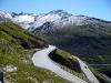 Cesta z kopce do údolí