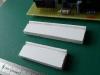 Do odřezků z plastové desky (Vakaplan) 15x5xdélka DPS jsem vyříznul drážku 2x2 mm