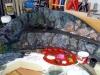 Další barvení skal temperovými barvami