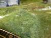 Flokování statickou trávou