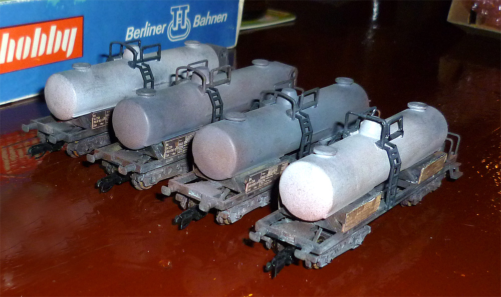 Modely vagonů Pavla Haertla