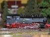 Jedna z parních lokomotiv