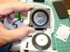 Vibrační vzduchová pumpa (po sejmutí středního dílu)