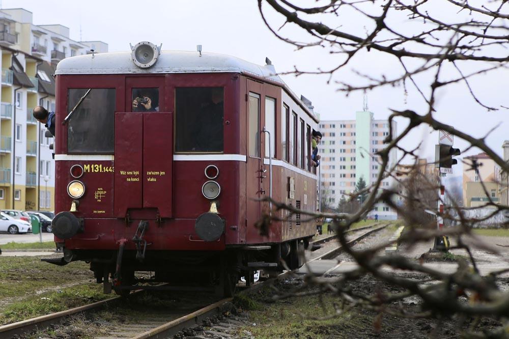 Jazda M 131 Ružomberok - Rbk Malé nádražie
