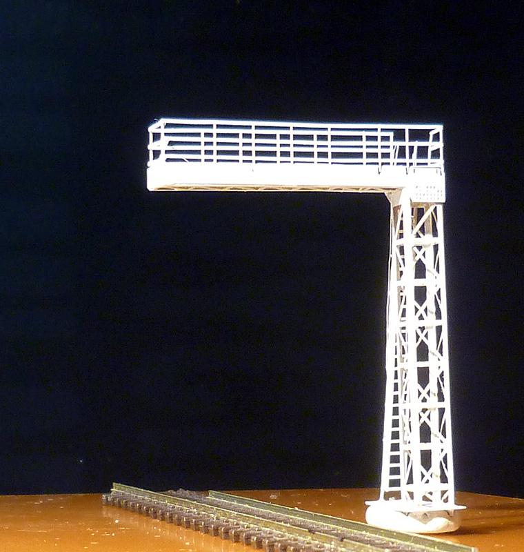Model návěstního krakorce - model Praha-Běchovice, měřítko N