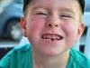 Honzík ztratil první mléčný zub