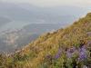 Několik výhledů do krajiny z vrcholu hory