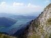 Jezero Lugano shora