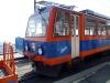 Vlak připravený na cestu do údolí