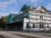 Nádražní budova v Hostivicích se přestavuje