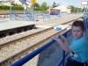 Honzíkovi se nové nádraží líbí