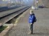 Honzík nečeká na vlak, ale na začátek exkurze