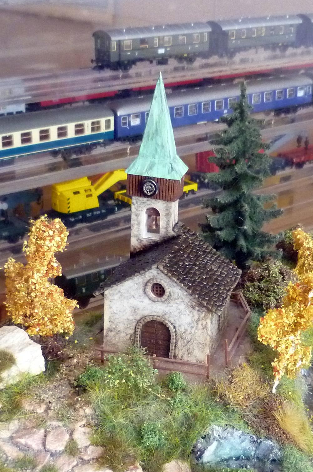Přestavený kostelík Sv. Marie