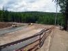 Budování běžeckých tratí v lese Plačkovec