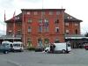 Nádražní budova v Arth-Goldau