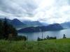 Jezero, po kterém se dá doplout do Luzernu