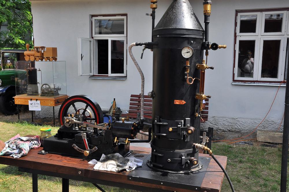 Parní stroj Michala Malinovského