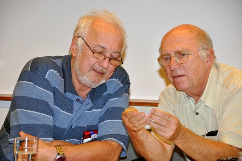 Důsledná kontrola prototypu leptu lávky v měřítku N od pánů Roubíčka a Tvrze