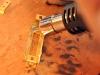 Ukázka pájení horkovzdušnou pistolí a pájecí pastou