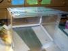 Styčné plochy jsou vyztužené plastovými úhelníky