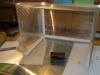 Porovnání velikosti stříkacího boxu a modelu v měřítku N