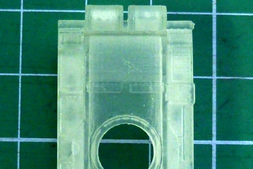 3D výtisky modelu tanku T55 z materiálu