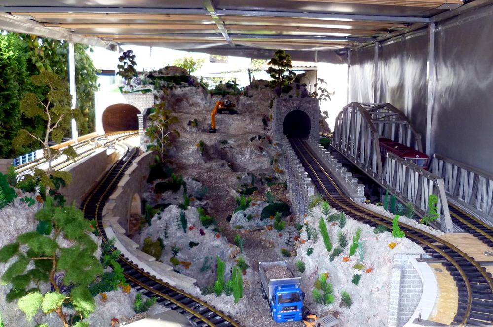 Kolejiště na přívěsu