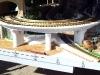 Model mostu inspirovaný novým mostem u Hl. nádraží v Praze