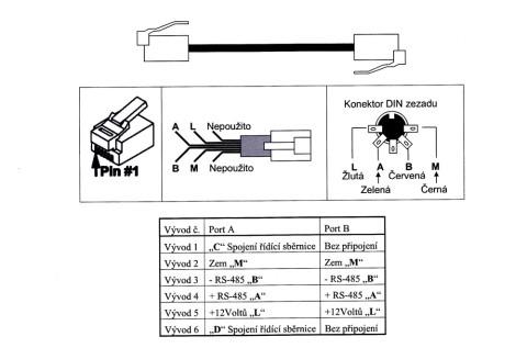 Zapojeni-kabelu s RJ11