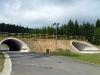 Běžecké tratě povedou i v podjezdech pod silnicí na Vlachovice