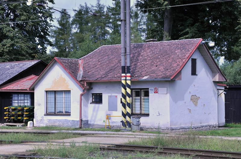 Drážní budova - Jindřichův Hradec