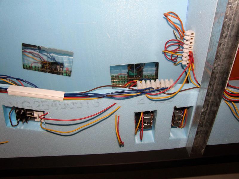 Konstrukce kolejiště ze styrodurových desek