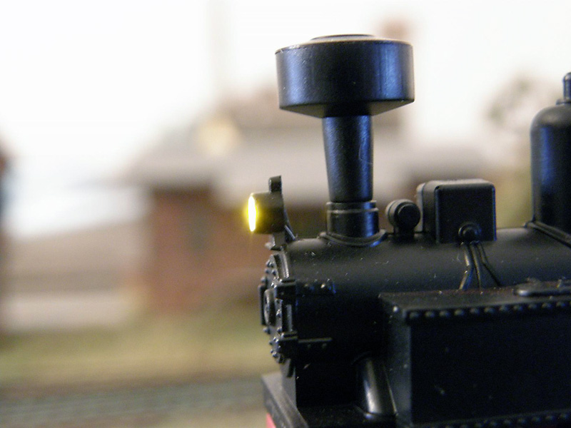 Osvětlená lokomotiva H0e