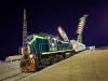 Bajkonur - noční připrava startu