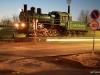 Bajkonur - jedna z prvních ještě parních lokomotiv k přepravě prvních raket startujících na Bajkonuru