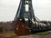 Pleseck - palivo do raket se zde plní přímo z cisternových vagonů tažených lokomotivami TEM2