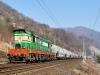 Pro srování - československá lokomotiva T699, v Rusku označované jako ČME3 - odtud přezdívka Čmelák